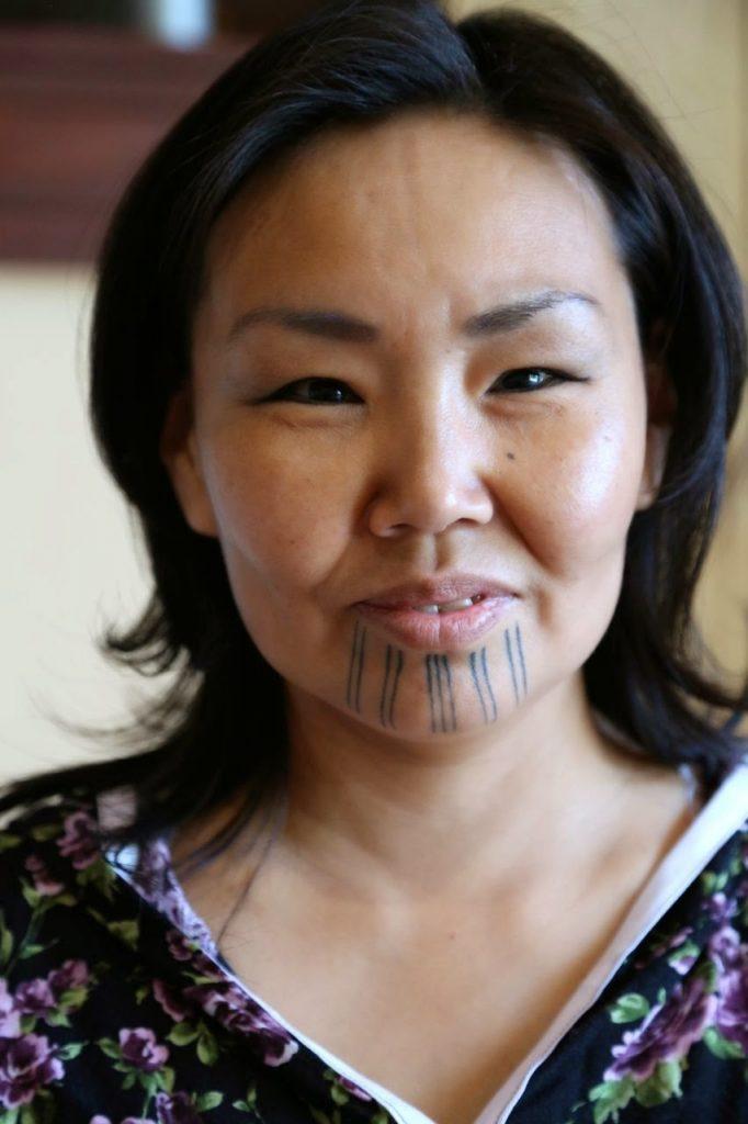 Native Alaskan woman, Anchorage, Alaska