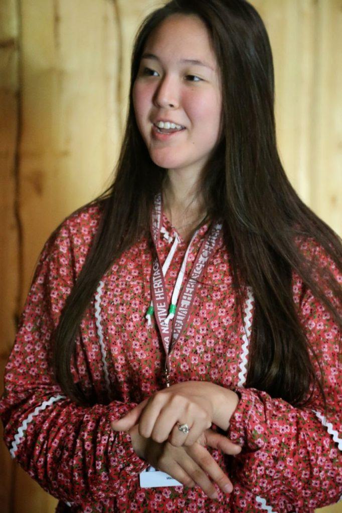 Native Alaskan girl, Anchorage, Alaska