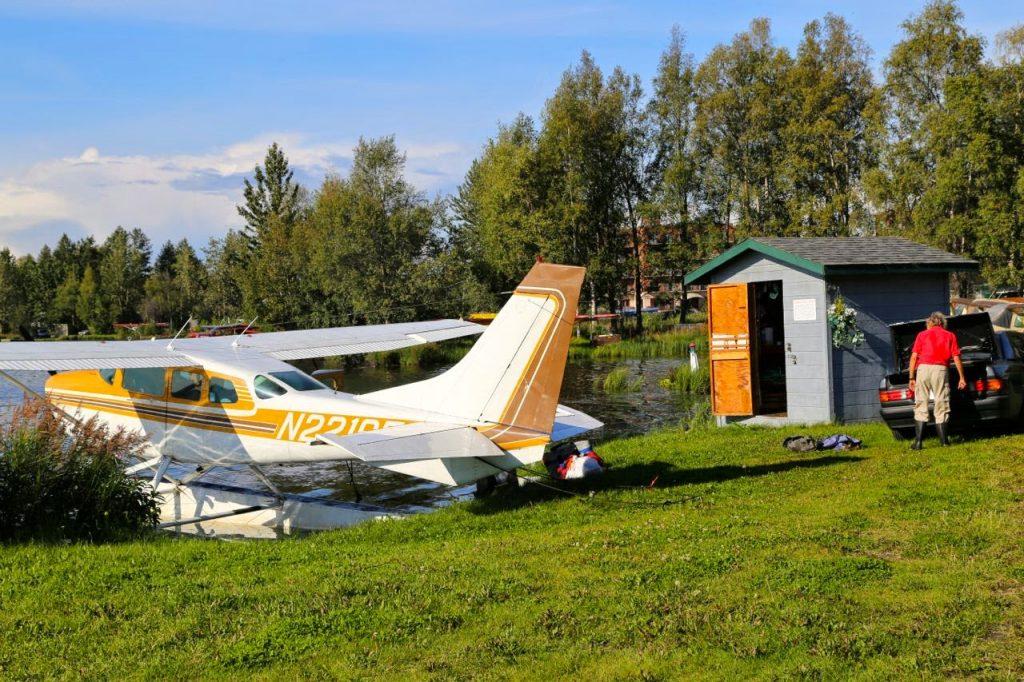 Float plane, Anchorage, Alaska