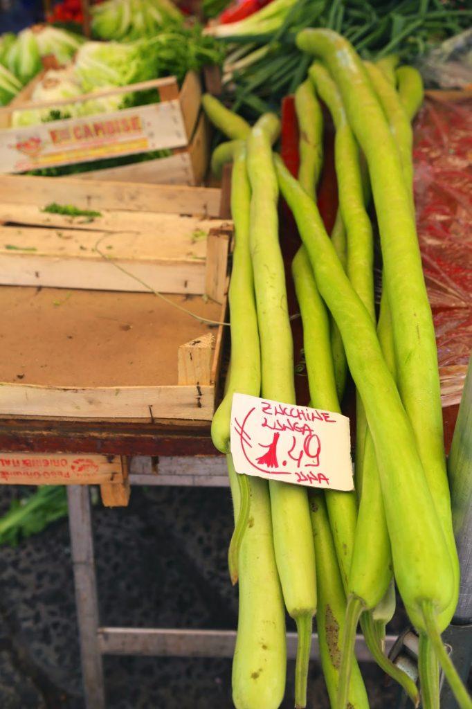 Long zucchine, Palermo, Sicily
