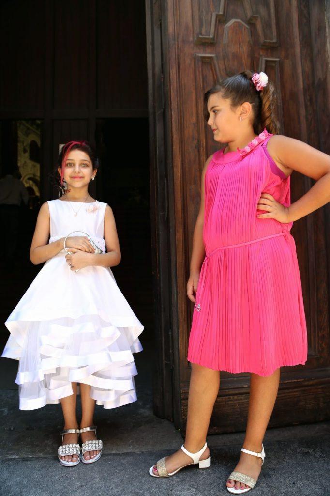 Sicilian children dressed up, Palermo, Sicily
