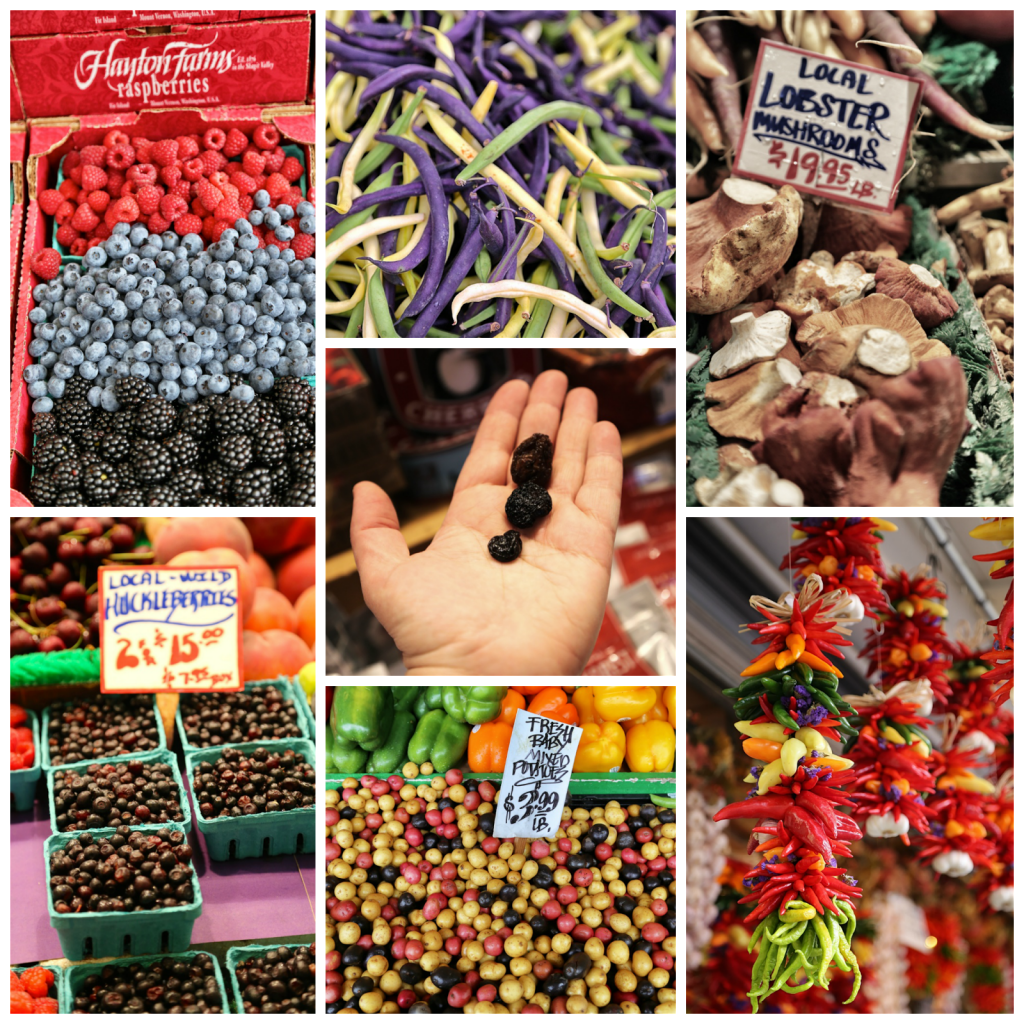 Fresh produce, pike place market,seattle