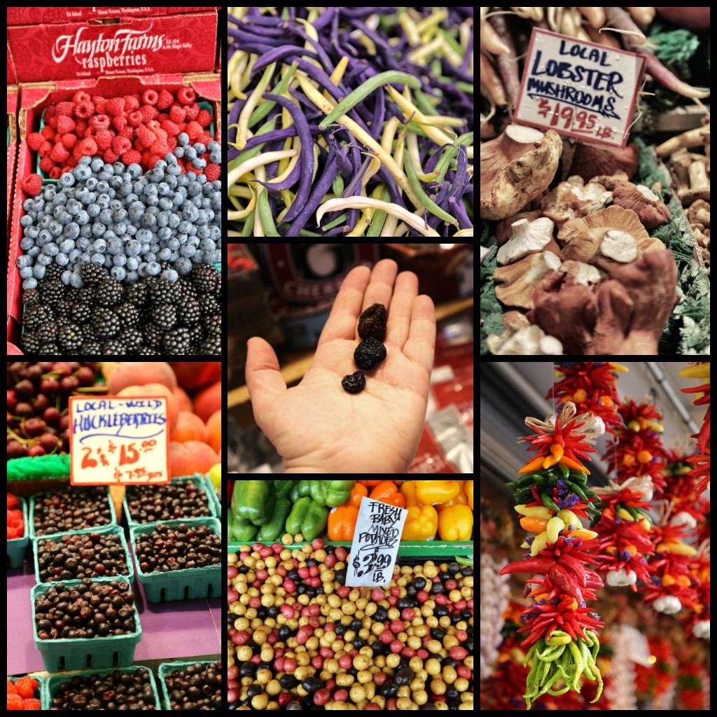 Fresh produce, pike place market,seattle