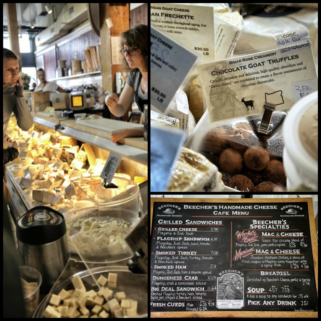 Beecher's Handmade cheese shop, pike place market,seattle