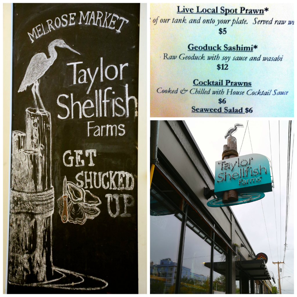 geoduck, Seattle, Taylor Shellfish Farms