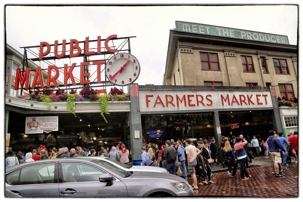 pike place market,seattle