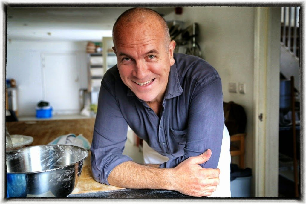 Richard Bertinet, baker in Bath