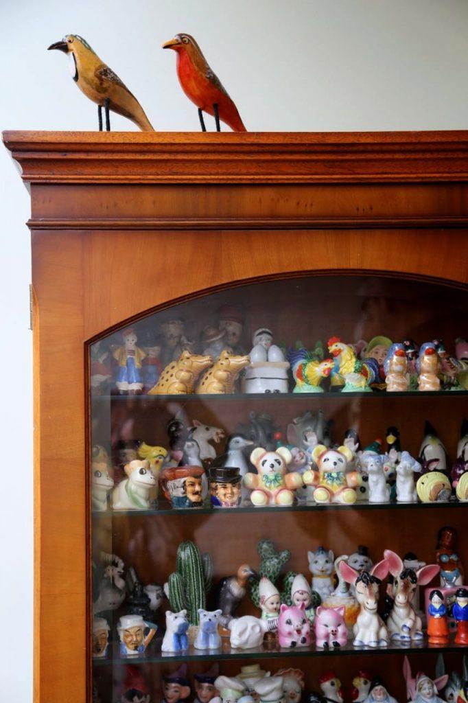 salt and pepper collection, ceramics, David Herbert's secret tea party