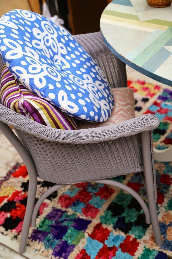 Textiles and colour, David Herbert's secret tea party