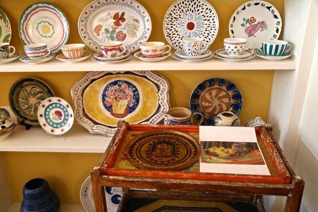Bloomsbury ceramics,David Herbert's secret tea party