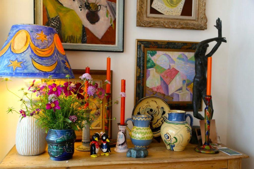bloomsbury ceramics David Herbert's secret tea party
