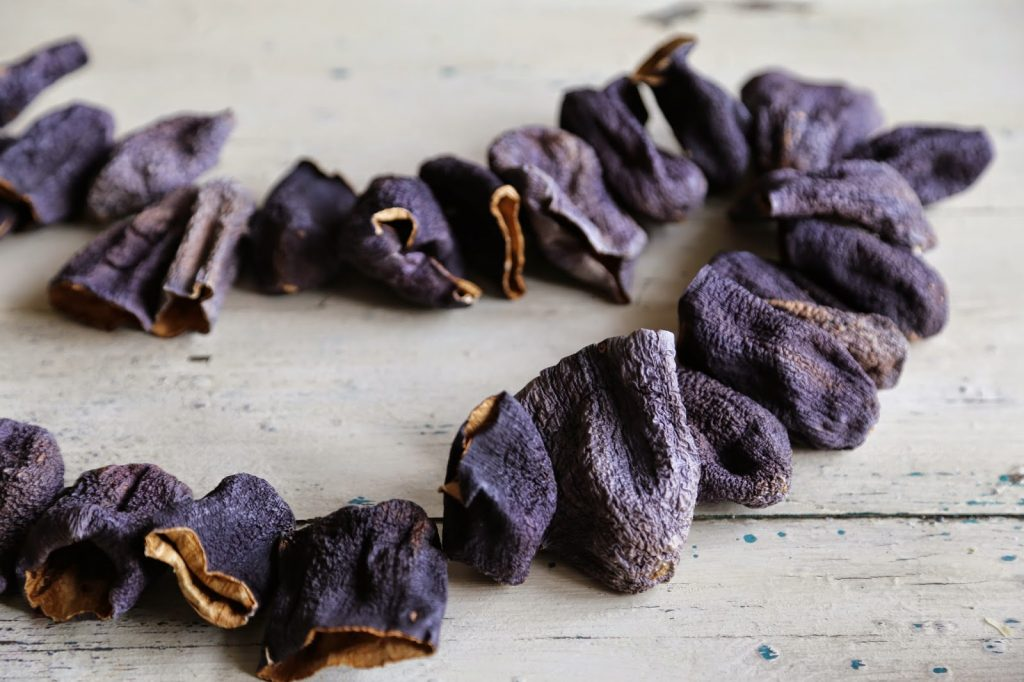 dried aubergines, msmarmitelover's supper club, turkish food