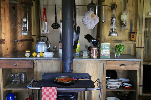 feather down farm house, wood burning stove,  pic: Kerstin Rodgers/msmarmitelover