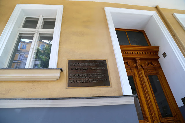 No 17, where Christopher Isherwood and Jean Ross (Sally Bowles) lived in Berlin