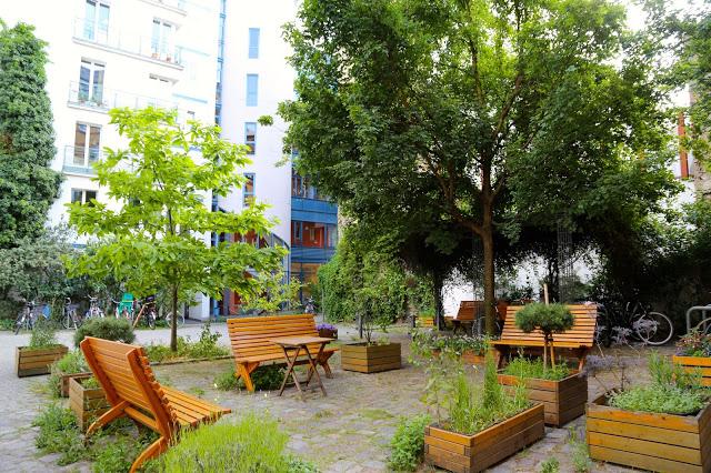 Interior garden, Berlin