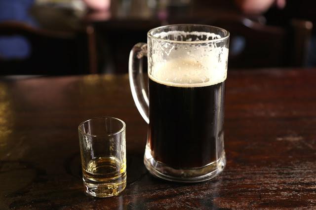 Honey wine and dark beer, U Fleku, Prague