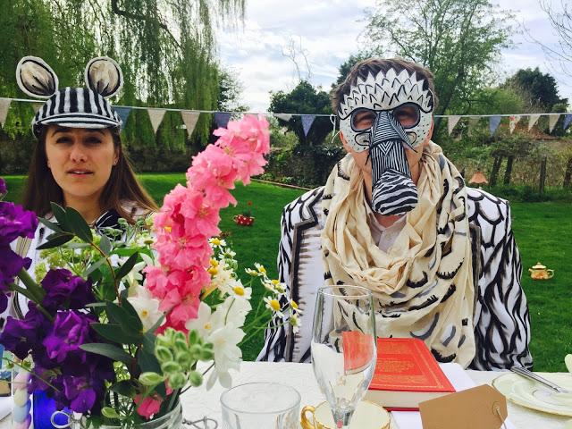 Dormouse: Mad Hatter's Tea Party/ alice in wonderland celebrity masterchef