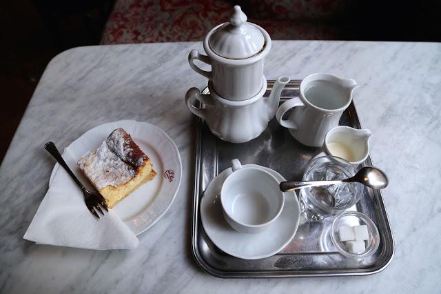 Carlsbad coffee, cafe sperl, vienna