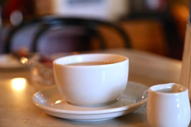 coffee at Kleines Cafe, Vienna,
