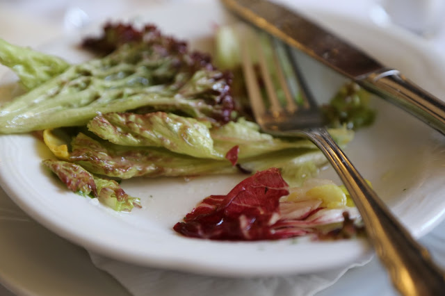 Austrian salad dressing, Cafe Grienstadel, Vienna
