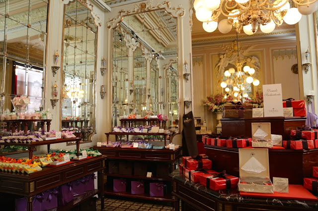 sweets and bonbons, cafe demel, Vienna