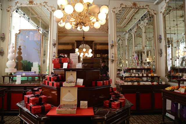 The shop, cafe demel, Vienna