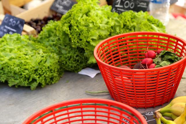 Sète market, languedoc, france
