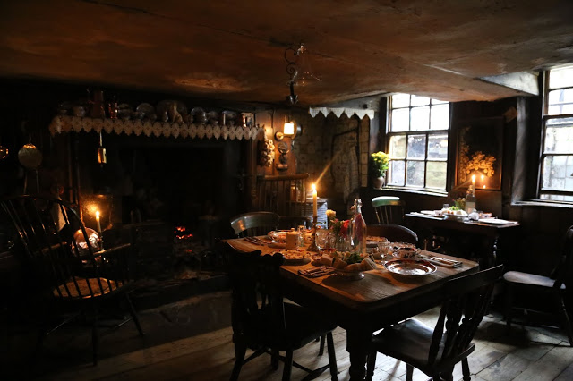 Kitchen at Dennis Severs house, 18 Folgate St, Spitalfields, london, MsMarmitelover's Tea party