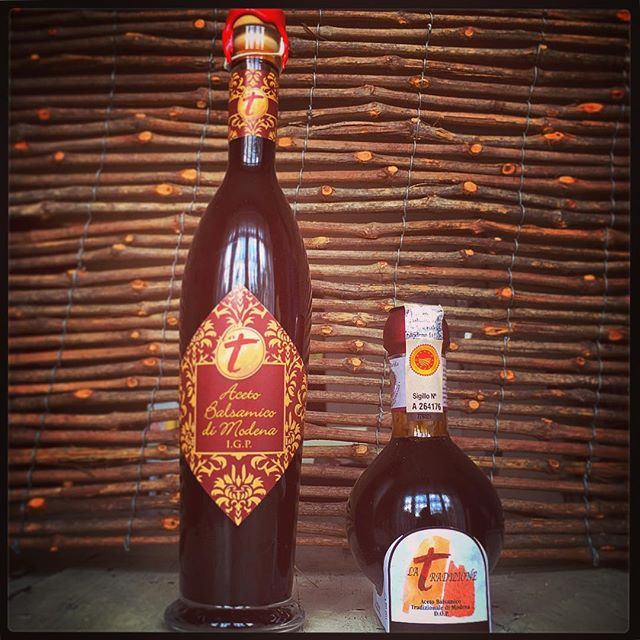 Balsamic vinegar from La Tradizione