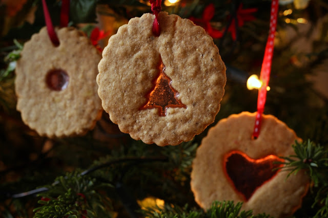 Christmas Tree decorations cookies