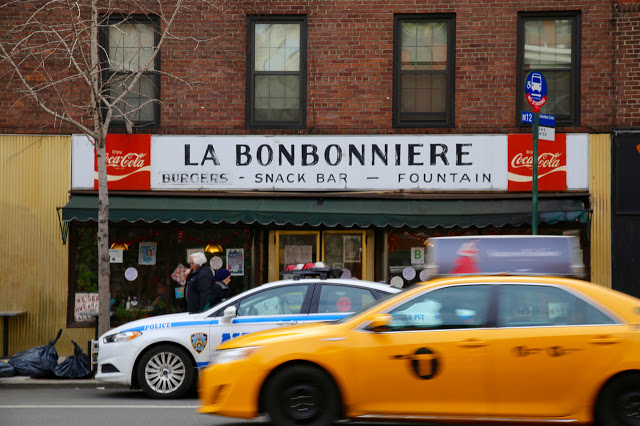 La Bonbonniere, old style new york diner, 8th st