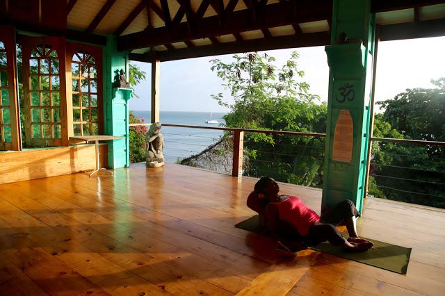 yoga studio, grenada