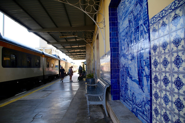 train station, douro, portugal