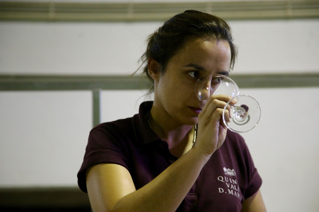 Joana Pinhao, winemaker at Quinta  douro, Portugal