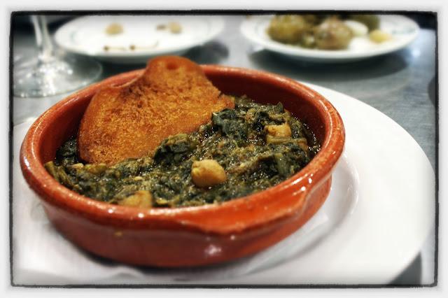 Spinach with Chickpeas (Espinacas con garbanzos)