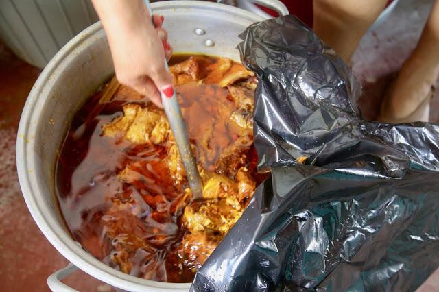 cochinita pibil,  holbox,yucatan, mexico