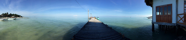 The jetty holbox, Mexico
