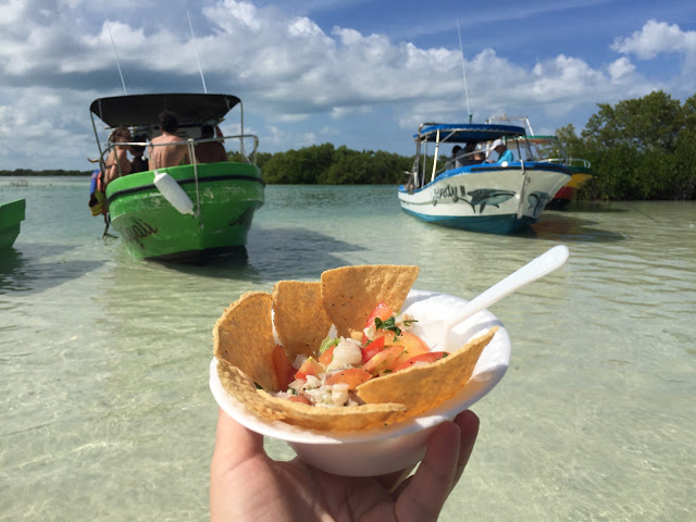 ceviche  holbox,yucatan, mexico