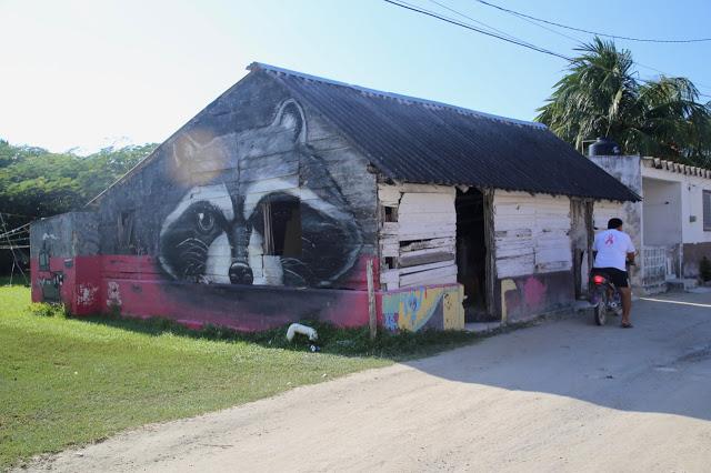 murals,  holbox,yucatan, mexico