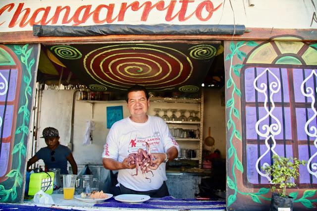 El Changarrito Street Stall, Holbox beach, Mexico