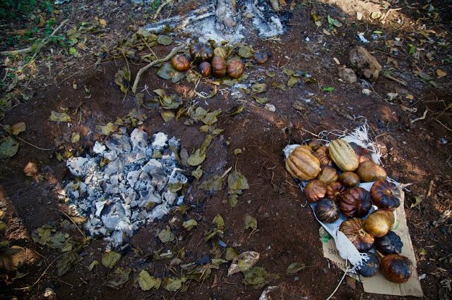 calabaza cooked in pibil, aldea maya, coba, Yucatan, Mexico