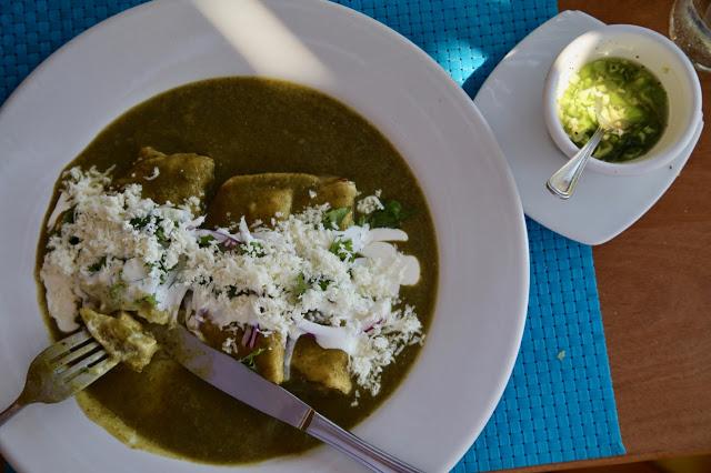 chilaquiles, tulum