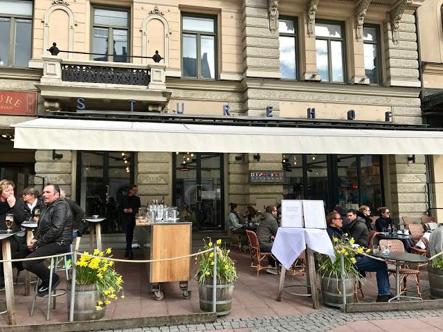 Sturehof restaurant, Stockholm