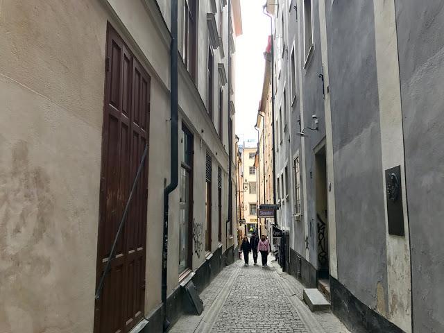 gamla stan, old town stockholm