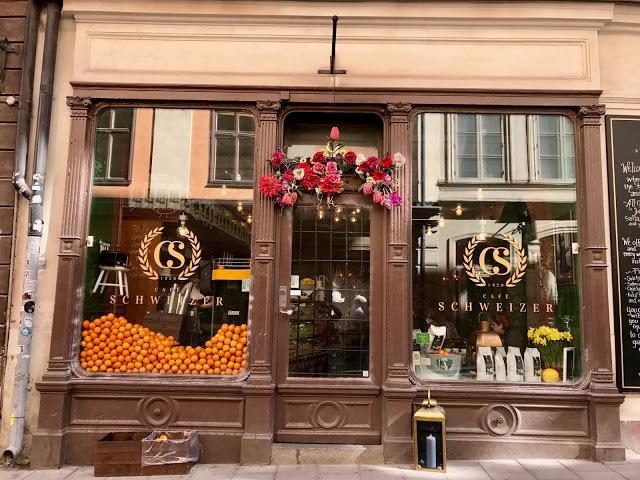 gamla stan cafe, old town stockholm