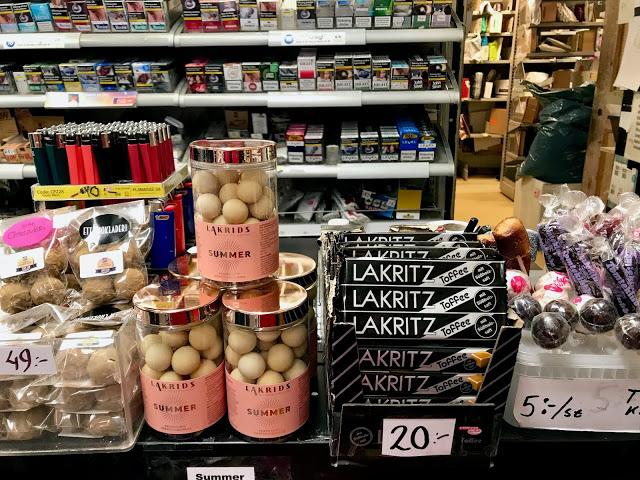 Lakritshandel shop in Stockholm.