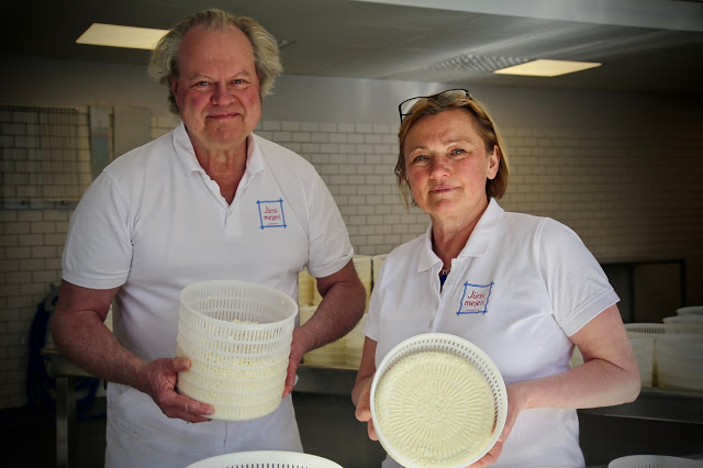 Claes and Kerstin Jurss, Jurss Mejeri Dairy, Hälleforsnäs, Sweden