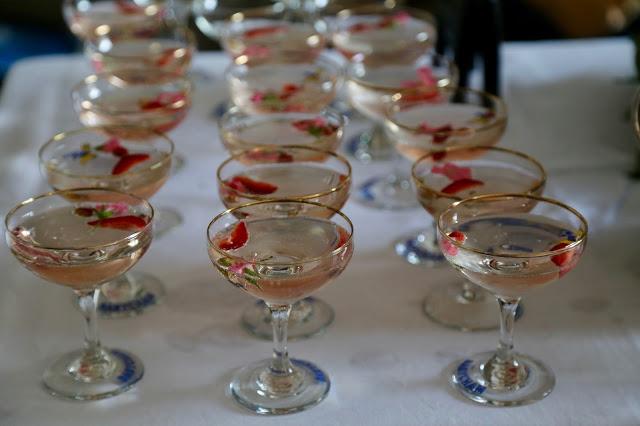 Elderflower aquavit cocktail: 3rd annual Swedish midsummer supper club with msmarmitelover and Linn Soderstrom in London