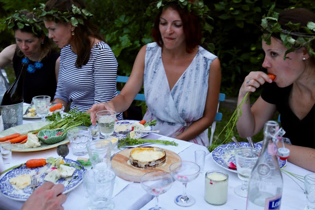 granbarksost from Jurss Mejeri:  3rd annual Swedish midsummer supper club with msmarmitelover and Linn Soderstrom in London