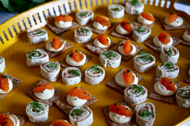 canapés: 3rd annual Swedish midsummer supper club with msmarmitelover and Linn Soderstrom in London
